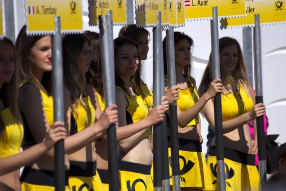 'Grid girls are no longer compatible with societal norms' according to F1